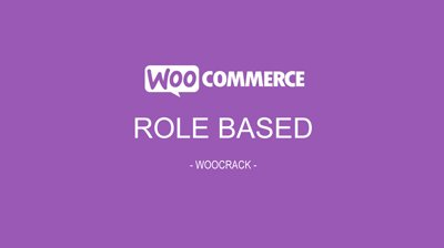 WooCommerce Role Based Payment / Shipping Methods 2.3.10