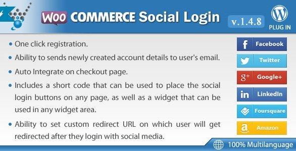 WooCommerce Social Login By Wpweb 1.8.7