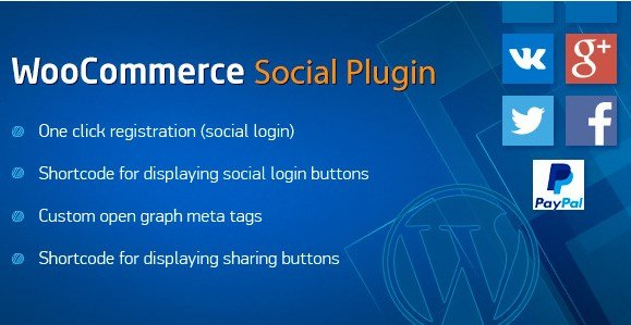 WooCommerce Social Plugin 1.8.1
