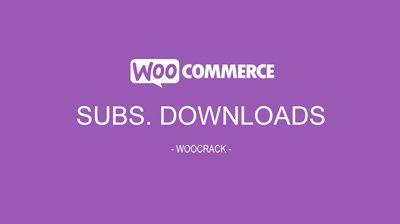 WooCommerce Subscription Downloads 1.1.17