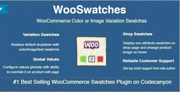 WooSwatches – Woocommerce Color or Image Variation Swatches 2.6.03