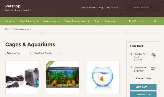 WooThemes Petshop Storefront WooCommerce Theme 1.1.5