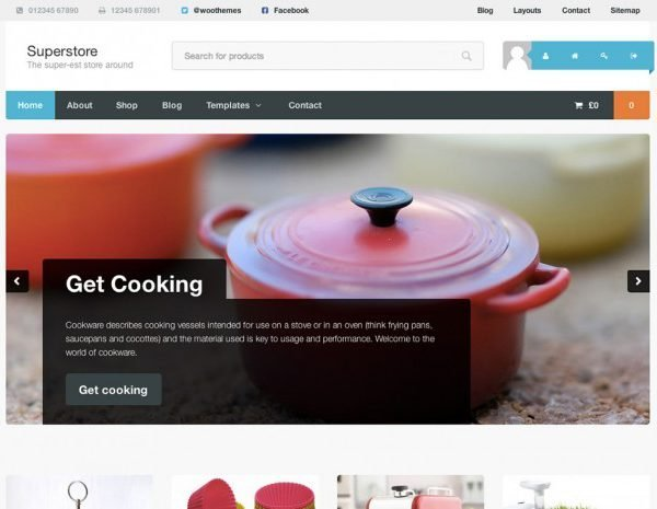 WooThemes Superstore WooCommerce Themes 1.3.1
