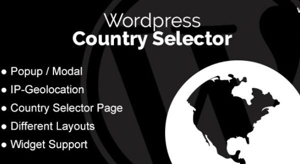 WordPress Country Selector WordPress Plugin 1.5.0