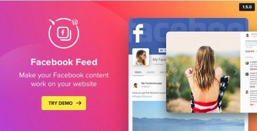 Facebook Feed – WordPress Facebook Plugin 1.9.3