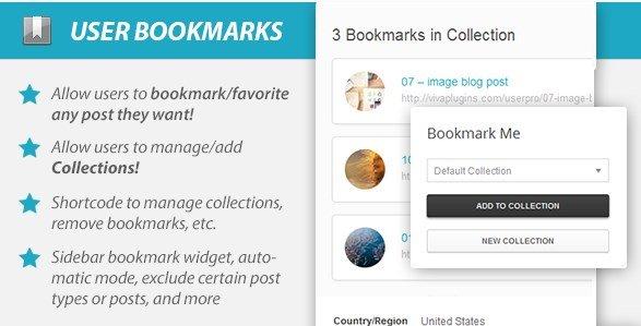WordPress User Bookmarks (Standalone Version) 3.4