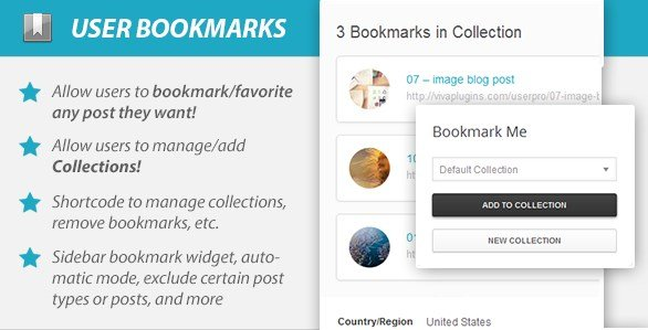 WordPress User Bookmarks for UserPro 4.0.2