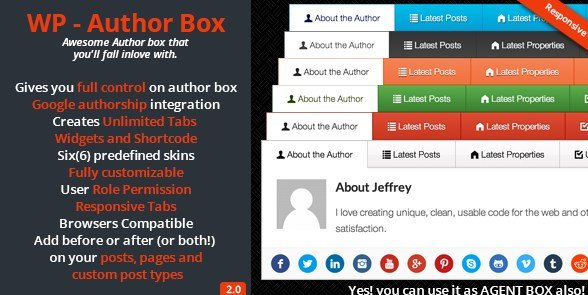 WP – Author Box 2.2
