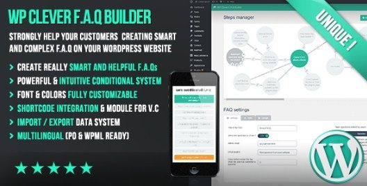 WP Clever FAQ Builder 1.35