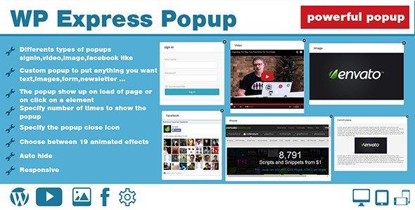 WP Express Popup 1.0