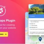 WP Google Maps – Map Plugin for WordPress 1.6.1