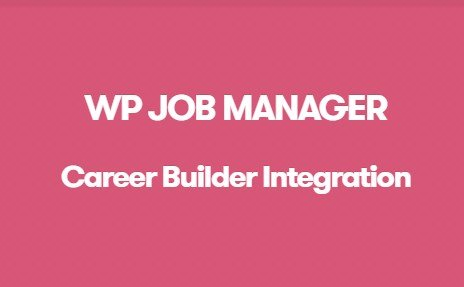 WP Job Manager Career Builder Integration Addon 1.0.5