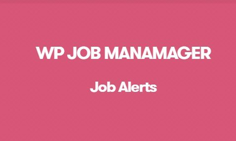 WP Job Manager Job Alerts Addon 1.5.1