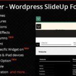 WP leFooter – WordPress SlideUp Footer Plugin 2.1