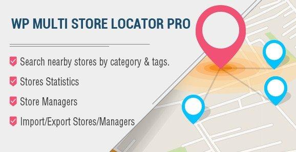 WP Multi Store Locator Pro 2.8
