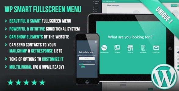 WP Smart Fullscreen Menu 1.02