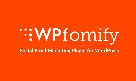 WPfomify WordPress Plugin 1.2
