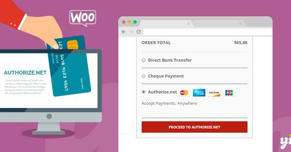 YITH Woocommerce Authorize.net Payment Gateway Premium 1.1.7