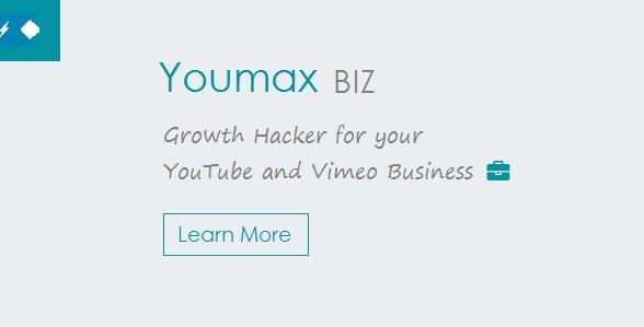 Youmax – Grow your YouTube and Vimeo Business 2.6