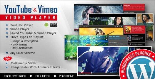 Youtube Vimeo Video Player and Slider WP Plugin 2.9