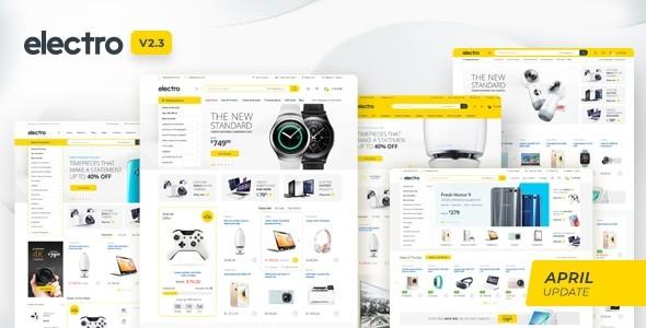 Electro Electronics Store WooCommerce Theme 2.3.0 1