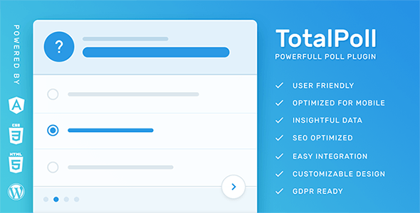 TotalPoll Pro – Responsive WordPress Poll Plugin 4.0.3 1