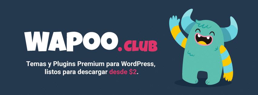 1 mes de suscripción al Club WaPoo - Pago con Paypal (Sin recurrencia) 1
